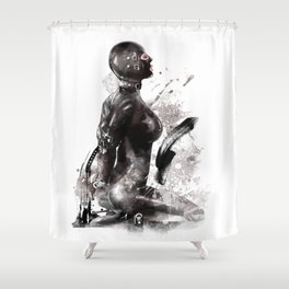 Fetish painting #3 Shower Curtain