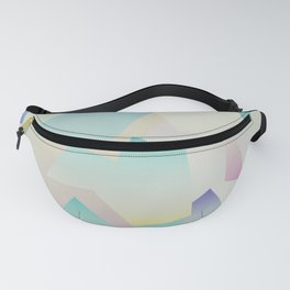 Abstract gradient 4 Fanny Pack