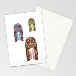 Owl With Kaleidoscope Eyes Stationery Cards