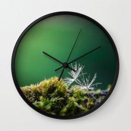 Dandelion Moist Wall Clock