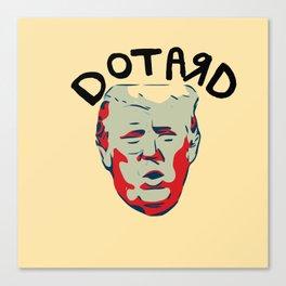 Dotard Canvas Print