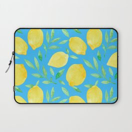 Blue Lemons Laptop Sleeve