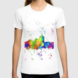 Albuquerque, New Mexico Skyline - Line & Ink 3 T-shirt
