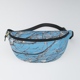 Winter Time Tree Fanny Pack