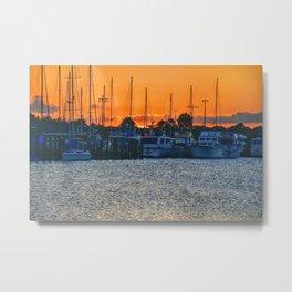 Titusville Sunset Metal Print