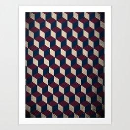pop cube Art Print