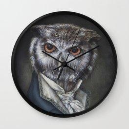 Professor Dapper Wall Clock