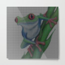 Red-Eyed Tree Frog 2.0 by Lars Furtwaengler | Digital Interpretation | 2013 Metal Print