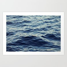 Water Waves Art Print