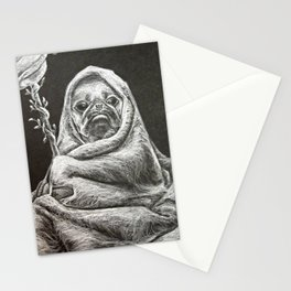The Wizard of Pugz Stationery Cards