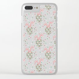 Festive Flavors Clear iPhone Case