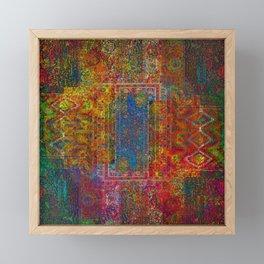 Holi Sky Framed Mini Art Print