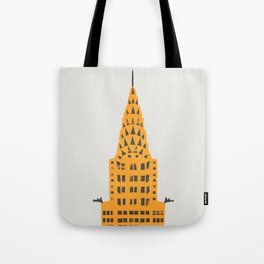 Chrysler Building New York Tote Bag