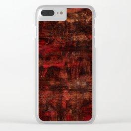 He Painted Me In Feelings- Desire Clear iPhone Case