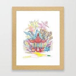 Secret Garden Framed Art Print