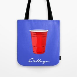 College Red Cup Tote Bag