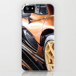 McLaren P1 - Cerberus Pearl - Side Detail iPhone Case