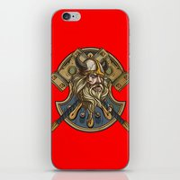 viking iPhone & iPod Skins featuring Viking by Spooky Dooky