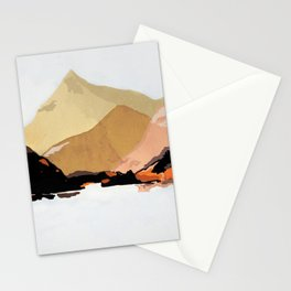 mountains abstract 2 Stationery Cards