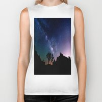 milky way Biker Tanks featuring the milky way. by 2sweet4words Designs