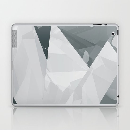 Ice cracks #1 Laptop & iPad Skin