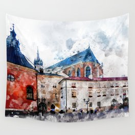 Cracow art 21 #cracow #krakow #city Wall Tapestry