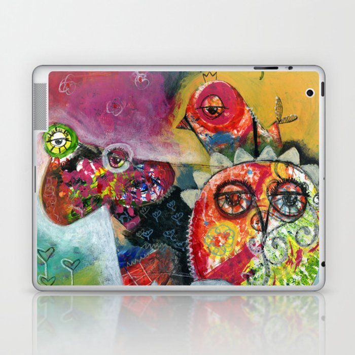 Creatures Laptop & iPad Skin