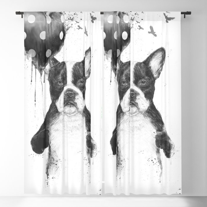 My heart goes boom Blackout Curtain
