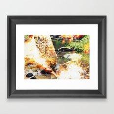 Stream #1 Framed Art Print
