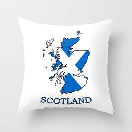 scotland-logo Throw Pillow
