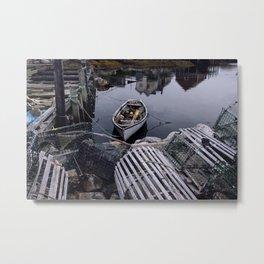 Peggy's Cove, NS Metal Print