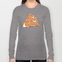 Comfy Bed - CORGI Long Sleeve T-shirt