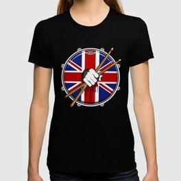 Brit Fist Drummer T-shirt