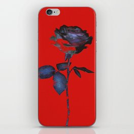 Enhancing the Ordinary (In red) iPhone Skin