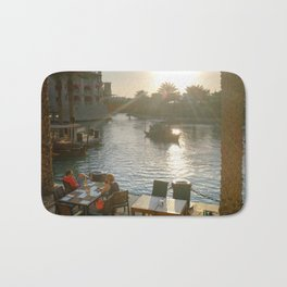 Lazy winter afternoons in Dubai Bath Mat