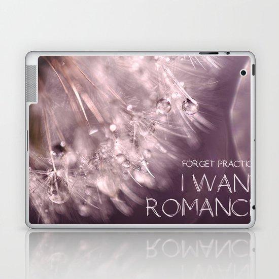Forget practical. I want ROMANCE.  Laptop & iPad Skin