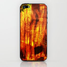 Forest Fires iPhone Skin