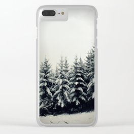 Trees are vital Clear iPhone Case