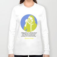 jessica lange Long Sleeve T-shirts featuring Jessica Lange by BeeJL