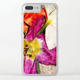 Fleurs vintages Clear iPhone Case