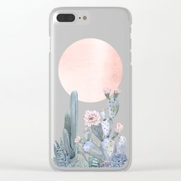 Desert Twilight by Nature Magick Clear iPhone Case