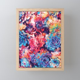 Fiona Floral Framed Mini Art Print