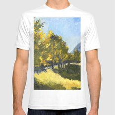The Meadow MEDIUM Mens Fitted Tee White