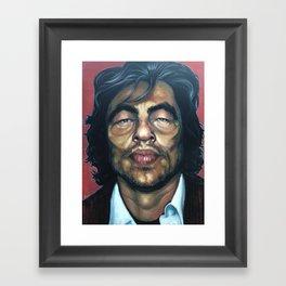 Benecio Del Toro Framed Art Print