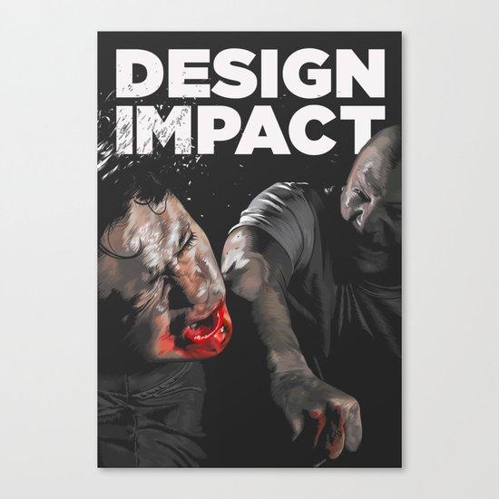 Design Impact Canvas Print