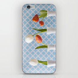 Spring Line Up - Tulips iPhone Skin