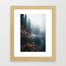 Grassi Lakes Framed Art Print