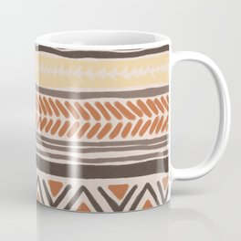 Hand Drawn Ethnic Pattern Coffee Mug