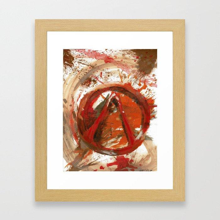 Borderlands 2 Splash Framed Art Print