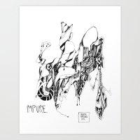 robert farkas Art Prints featuring robert by Valeria Pomidoro